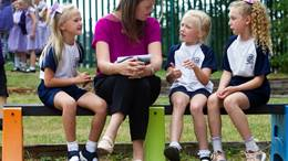 Talking to primary school age children about parental mental illness