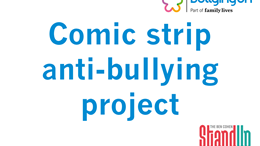 Comic strip anti-bullying project
