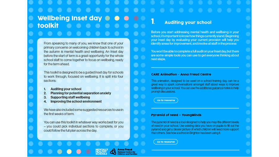 Inset Day Toolkit