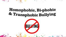 Homophobic, biphobic and transphobic bullying assembly