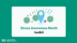 Stress Awareness Month toolkit